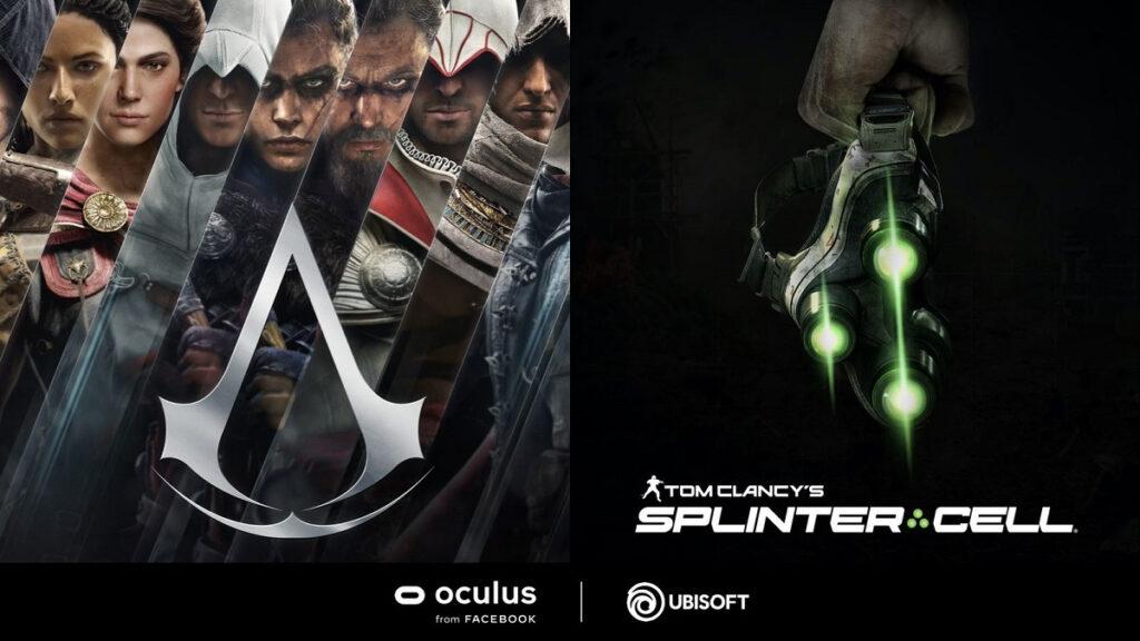 ubisoft ساخت واقعیت مجازی برای بازی های Assassin's Creed و Splinter Cell