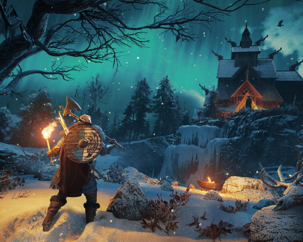 4k assassins creed valhalla 2020 u8 1280x1024 1 مراحل ساخت بازی Assassin's Creed: Valhalla به پایان رسید