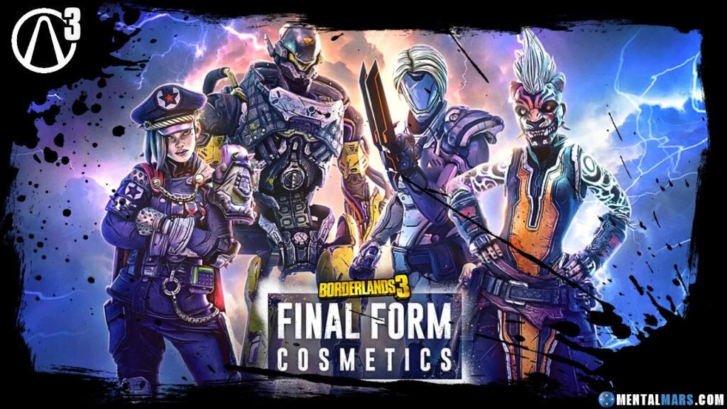 Borderlands 3 Final Form Cosmetics Borderlands 3 Ultimate Edition و لوازم بازی جدید رونمایی شد