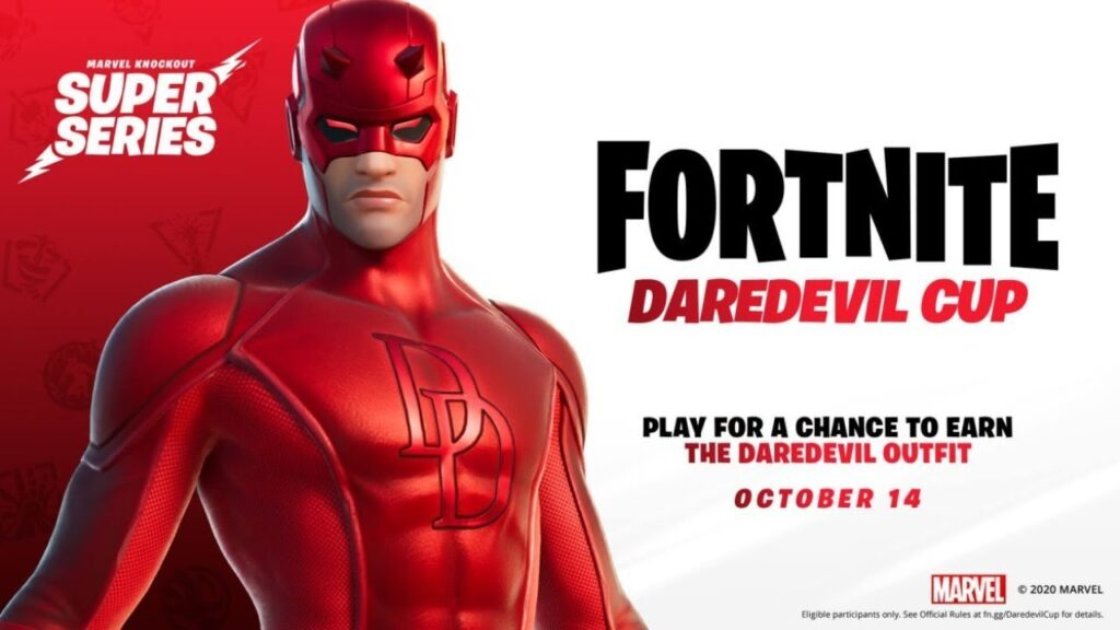 fortnite1 شخصیت Daredevil وارد بازی fortnite میشود