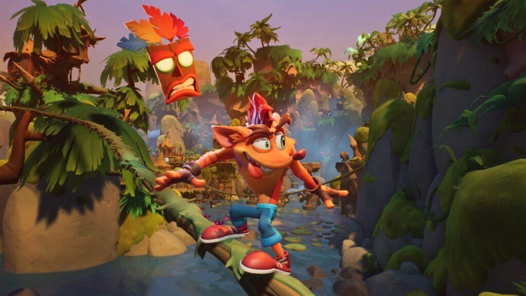 new crash bandicoot تصاویر بازی ها