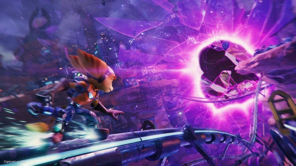 Ratchet And ClankRift Apart Is Only Coming To PS5 Insomniac Confirms بازی Ratchet And Clank فقط برای کنسول های بازی PS5 میآید!
