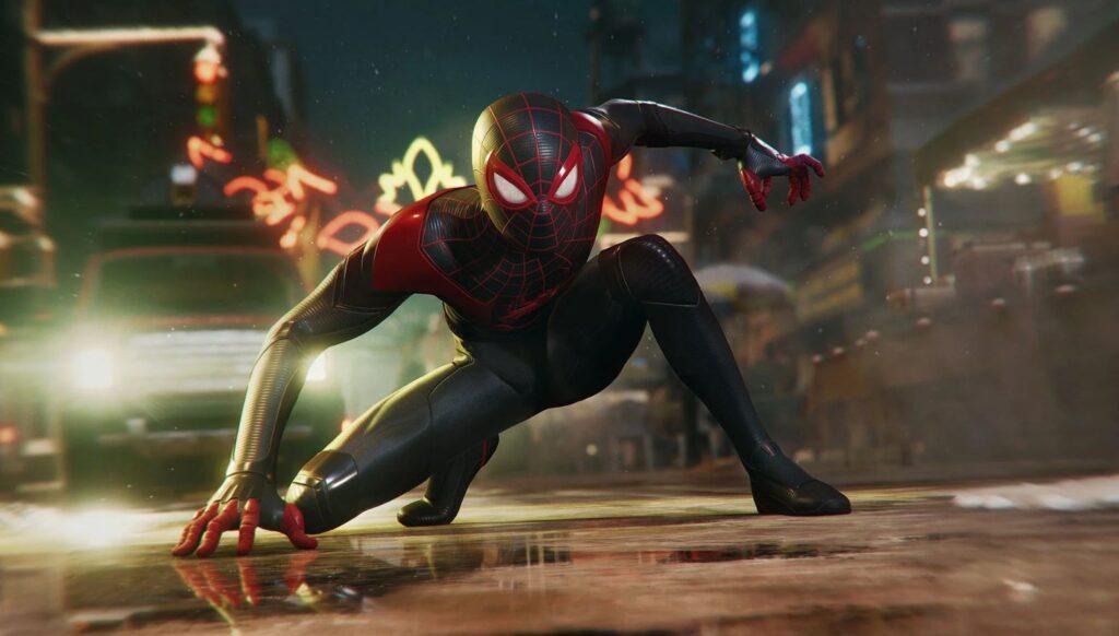 Spider Man 1 پیش نمایش بازی Spider-Man: Miles Morales