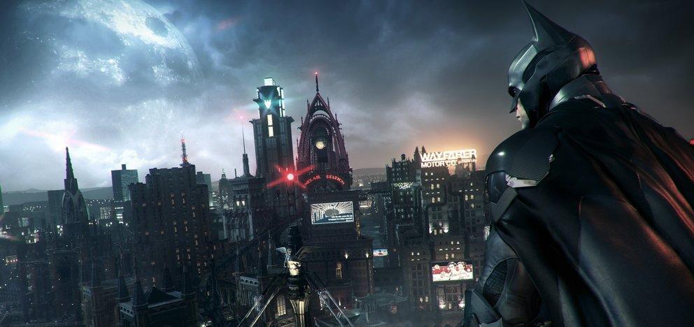 batman arkham knight grüner polizist banner یک بهروزرسانی رایگان برای Batman: Arkham Knight منتشر شد