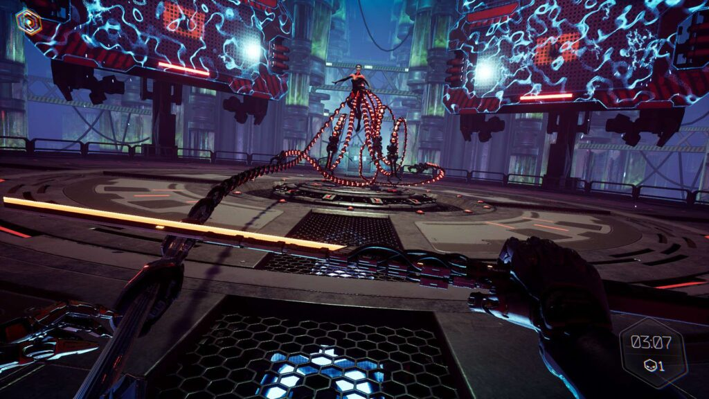 Mara boss fight تاکنون 500 هزار نسخه از بازی Ghostrunner به فروش رسیده است
