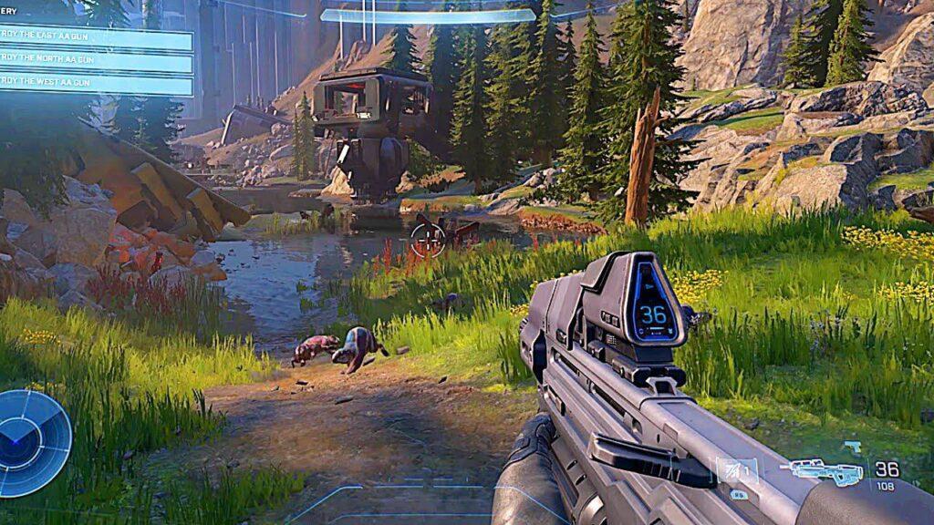 maxresdefault 19 اطلاعات جدیدی در مورد ماجراجویی و جهان باز Halo Infinite منتشر شد