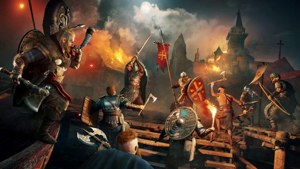 assassins creed valhalla raid night بسته الحاقی جدیدی برای بازی Assassins Creed Valhalla منتشر شد