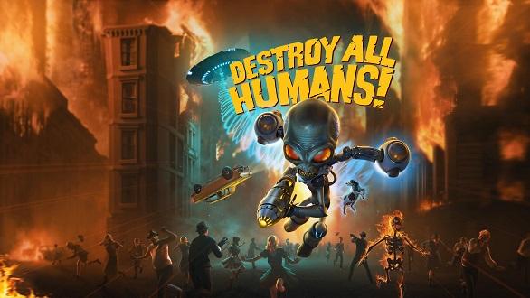 dah keyart تاریخ انتشار نسخه نینتندو سوییچ Destroy All Humans اعلام شد