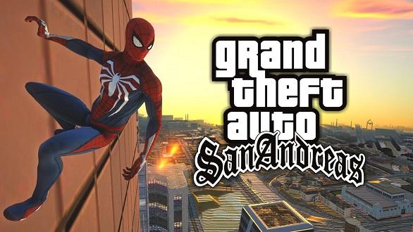 maxresdefault 8 ماد Spider-Man برای بازی GTA San Andreas منتشر شد